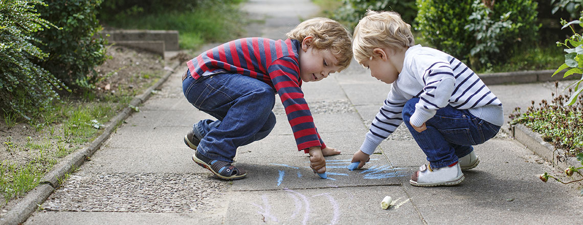 Children who grow up freely are not only happier, but they also leave distinct footprints.