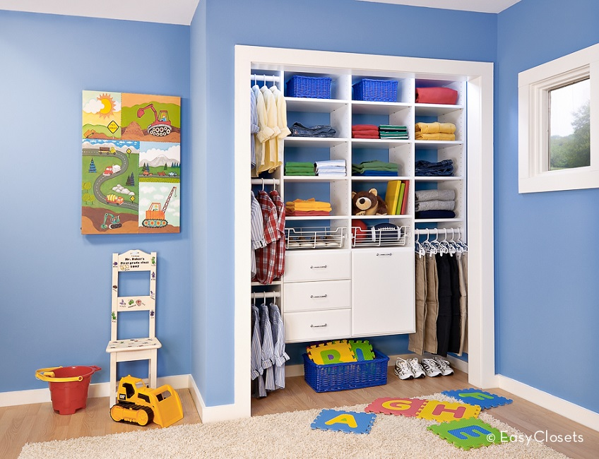 10 Tips For Organizing Your Child S Closet